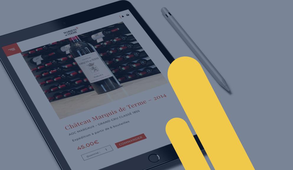 création site web ecommerce agence