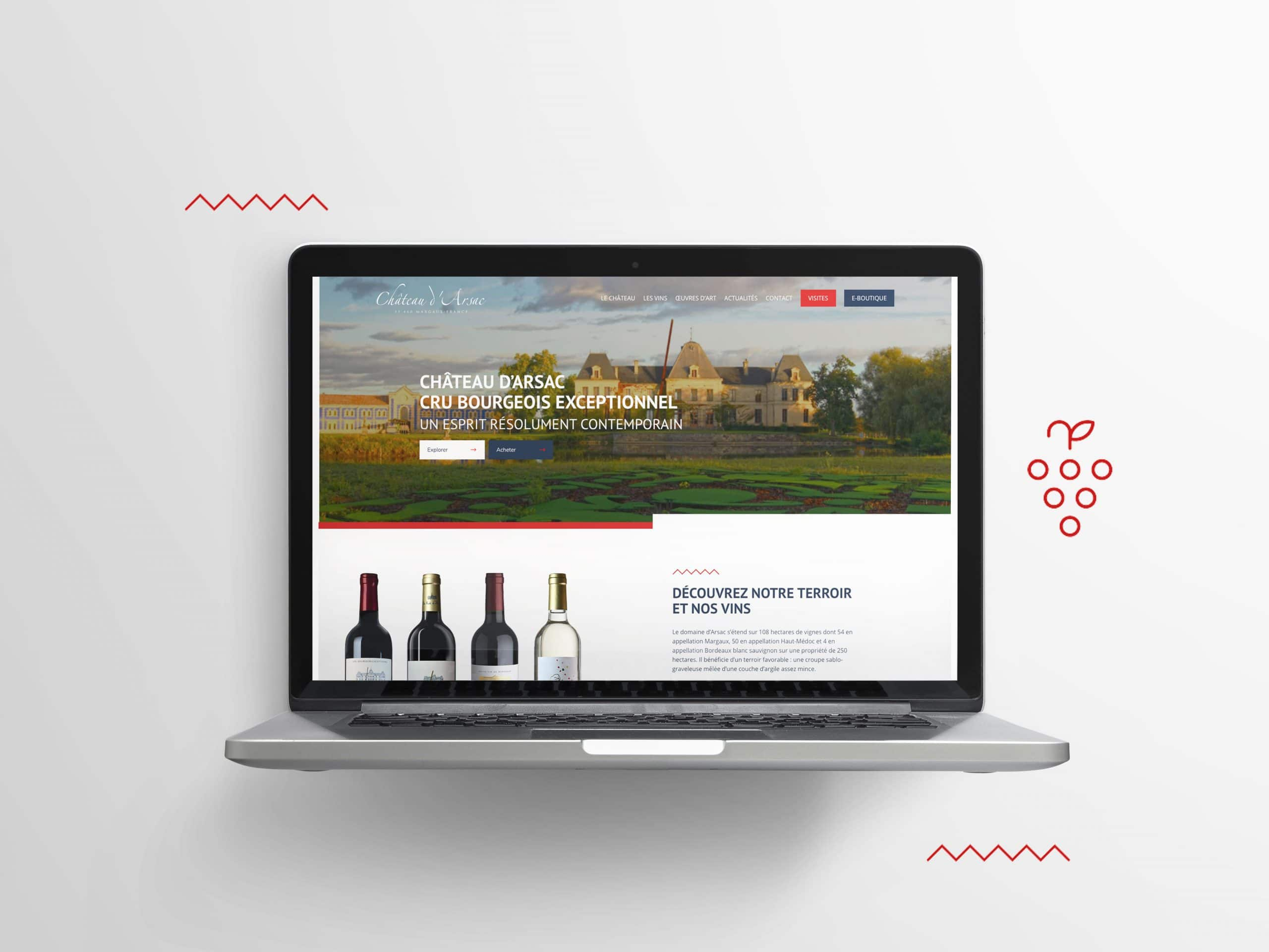 site-web-vitrine-chateau-arsac